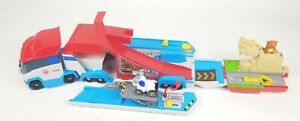 Paw Patrol Patroller Rescue Transporter Semi Truck with Robo Dog