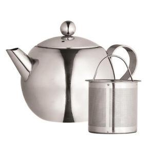 Genuine! AVANTI 900ml Nouveau Stainless Steel Tea Pot with Infuser! RRP $56.95!