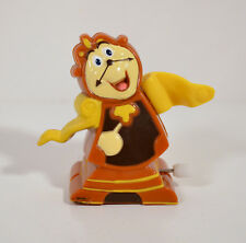 "1991 Cogsworth Clock 2.25"" Burger King Wind-Up Action Figure Beauty & The Beast"
