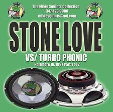 Stone Love ( Billy Slaughter ) vs Turbo Phonic ( Winter Fresh ). Dual Cd.