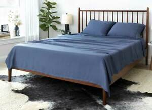 Brand new Sheex Artic Aire Max Performance sheet set in CalKing (Denim Color)
