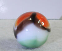 #11482m Vintage Vitro Agate Shooter Marble .85 Inches *Near Mint*