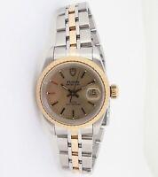 .Vintage 1999 Tudor Oyster Princess Date Steel & Gold 25mm Watch Ref 92413