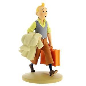 Figurine de collection Tintin en Route   15cm Moulinsart