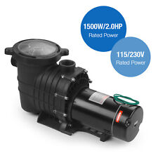 2.0HP 115/230V Swimming Spa Pool Pump Motor Strainer above Inground