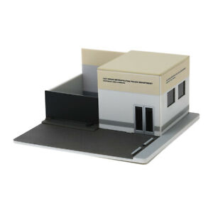 """Greenlight 57063 Police Station """" Central Command Las Vegas """" Scale 1:64 New !°"""