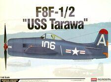 """Edición especial de la Academia 1:48 F8F-1/2 """"USS Tarawa"""" kit modelo de los aviones"""