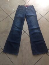 Miss Sixty Jeans Tall 26 Medium blue Flare NewTommy Italy 26x32