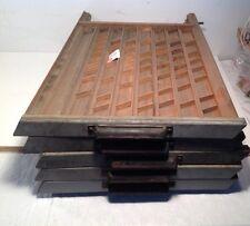 VINTAGE PRINTERS TRAY / SHADOW BOX