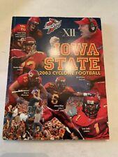 2003 Iowa State Cyclone Football Media Guide