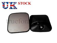 Set of 2x Universal Side View Mirror fit Truck Bus Caravan Camper 7x7 inches