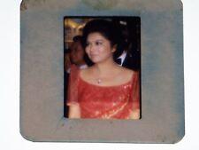 Original 35mm Transparency Negative Photo Slide Imelda Marcos