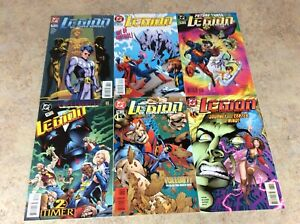 LEGION OF SUPER-HEROES #72,73,74,75,76,77 LOT OF 6 COMIC NM 1995-1996  DC