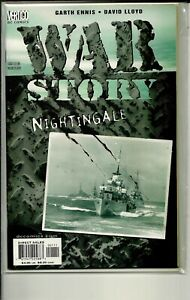 VERTIGO COMICS WAR STORY NIGHTINGALE! NM!