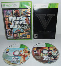 Xbox 360 Game GRAND THEFT AUTO V! Complete! TESTED Works Great! Fun GTA 5