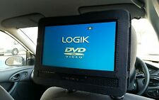 Car Headrest Holder for Logik L9DUALM13 Twin Screen DVD Player Car Mounting Kit