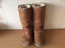 UGG Australia Ladies Sheepskin Boots Brown UK 4.5 EUR 37