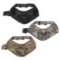 Tactical Dog Vest Harness Military Training Pet Adjustable Nylon