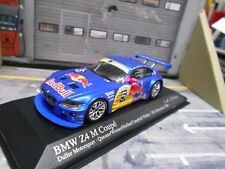 BMW z4 gt3 Britcar 2006 RED BULL Quester Werner Mullen Campbell Minichamps 1:43