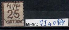 Altdeutschland NDB Okkupationsgebiet Mi-Nr.: 7 I a gestempelt gepr. Mehlmann.BPP