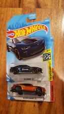 LOT 2 Hot Wheels 2019 HW '18 CAMARO SS COPO 26/250 71/250 Blue Orange