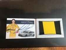 Joey Logano 2016 National Treasures Jumbo Sheet Metal Relic Auto 13/20 NASCAR