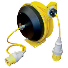 Redashe Hose Reels And Lubrication - Spring Rewind Cable Reel 110V 12-01836