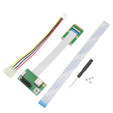 Mini 1X Express PCI-E to PCI-E Extension Cord Adapter Card with USB Riser Card
