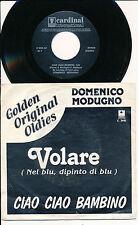 "DOMENICO MODUGNO 45 TOURS 7"" BELGIUM VOLARE"