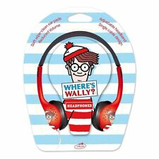"Little Star ""Where's Wally "" Kids Headphones"