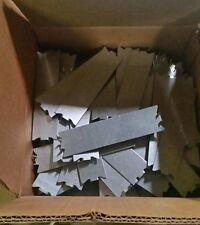 """100 pcs. Self Nailing Stud Guard - 1 1/2"""" x 6"""" 16 GA (Galvanized Steel) 100/box"""