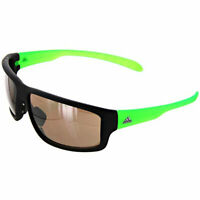 Adidas Unisex Sunglasses Kumacross 2.0 Matte Black/Green A42400-6054-64-13-140