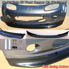 GV Style Front Bumper Lip (Urethane) Fits 06-08 Mazda Miata MX-5