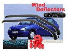 OPEL / GM / VAUXHALL CORSA  B 1993 - 2001  3.doors Wind deflectors HEKO  25305