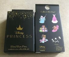 Loungefly Disney Cinderella 70th Anniversary Two Blind Pin Boxes Each With 1 Pin