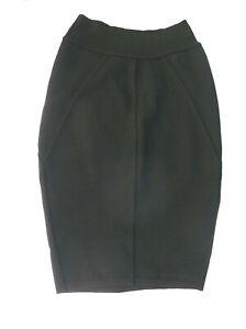 Azzedine Alaia black Santana knit skirt S bandage $979nw