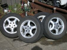 VECTRA 15 inch Alloy wheels 205 60 15 tyres 80% tread  also suits ASTRA  & SAAB