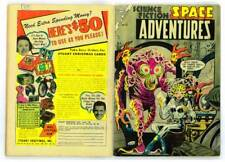 Facsimile reprint covers only Space Adventures #12 - 1954 Ditko pre-Code horror