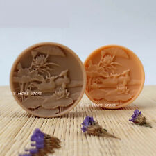 lovebirds Candle Soap Mould Chocolate Candy Sugar Fondant Cake Silicone Molds