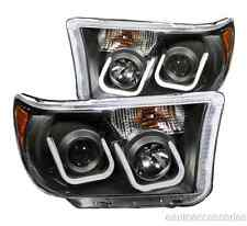 Black Clear U-Bar Projector Headlights fits Toyota Tundra/Sequoia Anzo 111294