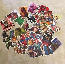 ** Lot 50 stickers autocollants - Marvel Avengers - Super Héros - Spiderman **
