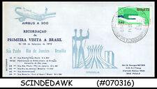 BRAZIL - 1973 AIRBUS A 300 SÃO PAULO - RIO de JANEIRO - BRAZILIA - FFC