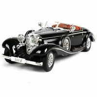 1:18 Simulation Diecast Benz 500k Alloy Antique Car Model Toys Classic Version