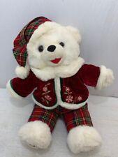 2008 WalMART CHRISTMAS Snowflake TEDDY BEAR