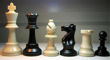 Schach, Schachfiguren Kunststoff KH 95 mm Gewicht 410 g