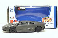 "Bburago 30010 Lamborghini Reventon ""Met Grey"" METAL Scala 1:43"