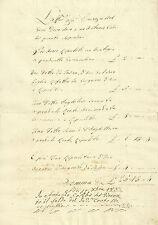 Elenco Lavori del Legnaiolo Convento delle Monache S. Domenico in Maglio 1837