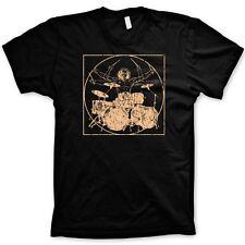 DaVinci Drummer t-shirt funny tshirts graphic music tees