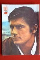 ALAIN DELON ON BACK COVER 1969 RARE VINTAGE EXYUGO MAGAZINE