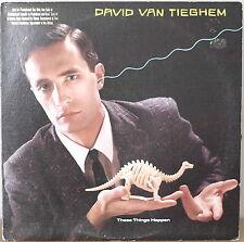 DAVID VAN TIEGHEM: These Things Happen-NM1984LP PROMO TWYLA THARP COMMISSION